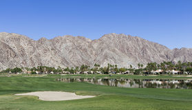 Pga West golf course, Palm Springs, California Royalty Free Stock Photo