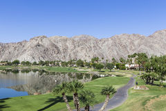 Pga West golf course, Palm Springs, California. Pga West golf course in La Quinta, Palm Springs, California, usa royalty free stock photos