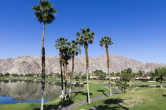 Pga West golf course, Palm Springs, California Royalty Free Stock Photos