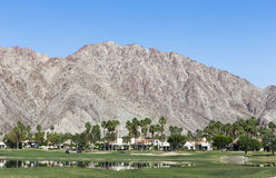 Pga West golf course, Palm Springs, California. Pga West golf course in La Quinta, Palm Springs, California, usa Royalty Free Stock Photography