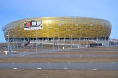 PGE竞技场体育场在格但斯克,波兰 图库摄影