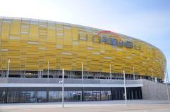 Стадион в Гданьск, Польша арены PGE Стоковое фото RF