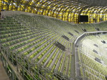 PGE Arena-Gdansk-Stadion-Haupttribüne Stockfoto