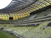 PGE Arena-Gdansk-Stadion-Spielfeld Lizenzfreies Stockbild