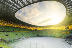PGE Arena in Gdansk, stadium for Euro Cup 2012 Stock Images