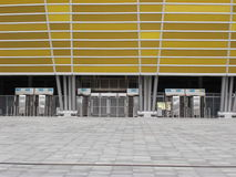PGE Arena Gdansk Stadium Facade Royalty Free Stock Photography