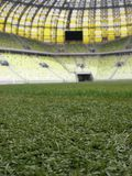 PGE Arena Gdansk Stadium Playing Field Royalty Free Stock Image