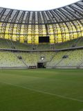 PGE Arena Gdansk Stadium Playing Field Stock Photos