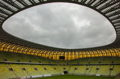 PGE Arena. Stadion Energa Gdansk interior - Baltic Arena - PGE Arena Gdansk. Poland Stock Photography