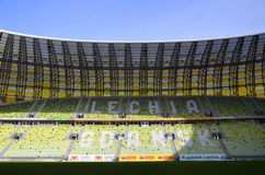 PGE Arena-Stadion in Gdansk, Polen Lizenzfreie Stockbilder