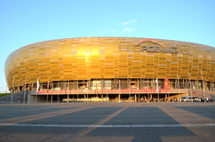 PGE Arena Stadium in Gdansk, Poland Royalty Free Stock Image