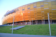PGE Arena Stadium in Gdansk, Poland Stock Photos