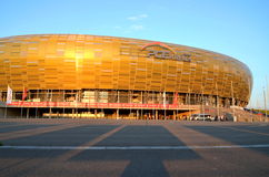 PGE Arena Stadium in Gdansk, Poland Royalty Free Stock Photography