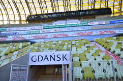 PGE Arena Stadium in Gdansk, Poland Royalty Free Stock Photos