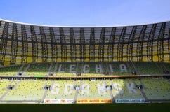 PGE-Arenastadion i Gdansk, Polen Royaltyfria Bilder