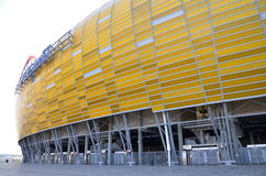 PGE-Arenastadion i Gdansk, Polen Arkivbilder