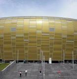 PGE Areny Gdańska Stadium Fasada Fotografia Royalty Free