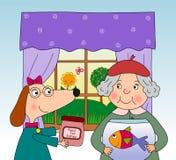 Página do livro de crianças Fotos de Stock Royalty Free
