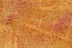 Páginas da Bíblia Imagem de Stock Royalty Free