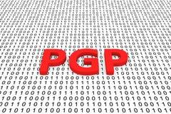 PGP Immagini Stock Libere da Diritti
