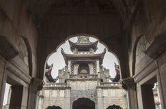 """Phà catedral ‡ m de t ¡ Diá do"""" em Ninh Binh Province, Vietname Imagem de Stock"""