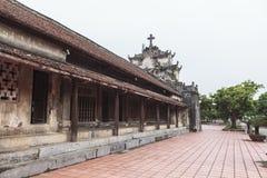 """Phà ¡ t Diá"""" Ninh Binh省的,越南‡ m大教堂 免版税库存图片"""