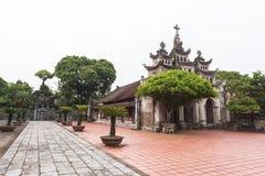 """Phà ¡ t Diá"""" Ninh Binh省的,越南‡ m大教堂 免版税库存照片"""