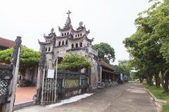 """Phà ¡ t Diá"""" Ninh Binh省的,越南‡ m大教堂 免版税图库摄影"""