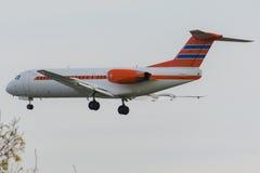 PH-KBX荷兰政府,福克战斗机70 库存图片