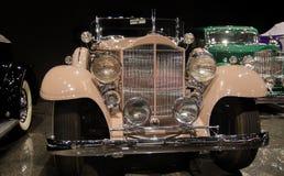 Phaéton 1933 de sport de Packard 1004 présenté dans le musée de Blackhawk Ca LES Etats-Unis photographie stock libre de droits
