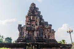 Pha在sakonnakhon省thaila的那个narai城weang寺庙 免版税库存照片