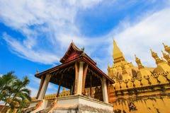 Pha που Luang (ότι Luang Stupa), Vientiane, Λάος Στοκ εικόνα με δικαίωμα ελεύθερης χρήσης