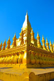 Pha то Luang Temple1 Стоковые Фото