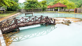 Pha Bong hotspring in Thailand royalty free stock image