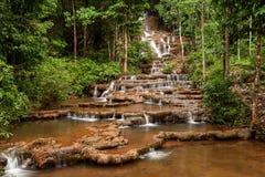 Pha Charoen Waterfall. National Park at Mae Sot, Tak, Thailand Royalty Free Stock Image