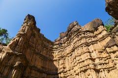 Pha Chau canyon on blue sky background. Royalty Free Stock Image