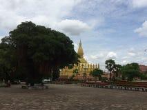 Pha che Luang Fotografia Stock