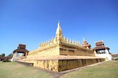 Pha che Luang, Vientiane Laos Fotografie Stock Libere da Diritti