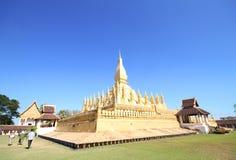 Pha che Luang, Vientiane Laos Fotografia Stock