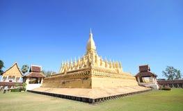 Pha che Luang, Vientiane Laos Immagine Stock Libera da Diritti