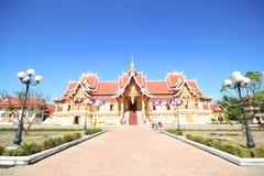 Pha che Luang, Vientiane Laos Immagini Stock Libere da Diritti