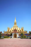Pha che Luang, Vientiane Laos Fotografie Stock