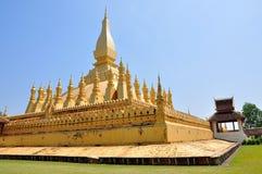 Pha che stupa di Luang a Vientiane, Laos Immagine Stock Libera da Diritti