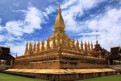 Pha che tempiale di Luang a Vientiane, Laos Fotografia Stock Libera da Diritti