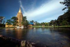 Pha That Chedi Sri Pho Thong is pagoda in Wat Ta It,Thailand. Royalty Free Stock Photo