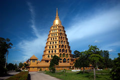 Pha That Chedi Sri Pho Thong is pagoda in Wat Ta It,Thailand. Stock Images