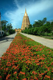Pha That Chedi Sri Pho Thong is pagoda in Wat Ta It,Thailand. Stock Photography