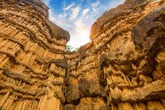 Pha Cho, Pha Cho è alte scogliere del canyon del suolo ai parchi di Mae Wang National in Chiang Mai, Tailandia La Tailandia di st Fotografia Stock Libera da Diritti