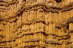 Pha Cho, Pha Cho jest wysokimi glebowymi jarów falezami przy Mae Wang parkami narodowymi w Chiang Mai, Tajlandia target1328_0_ Th Zdjęcia Royalty Free