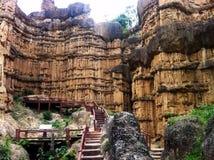 Pha Chor, Grand Canyon von Chiangmai, Thailand Stockfotografie